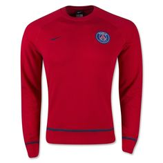 b4cd1a5196de7c Nike PSG Crewneck Sweater (Red Navy) World Soccer Shop