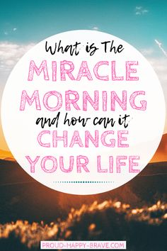 What is The Miracle Morning and how can it change your life? Have you ever heard of The Miracle Morning? It is a life changing book by Hal Elrod. Click through to read my review on the book and why I think we should all be implementing self-development into our days.