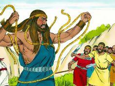 15 beste afbeeldingen bijbel simson voor kleuters