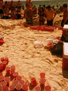 :) WOW..... they really wanted t play beer pong didn't they? lol
