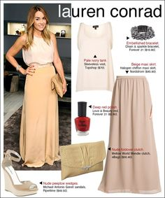 Lauren Conrad's Style is AMAZING!! Spring 2013/Summer 2013 Outfit