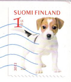 Finland Dog Postage Stamp