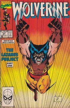 Wolverine # 27 Marvel Comics Vol. Marvel Comics, Marvel Comic Books, Marvel Art, Comic Books Art, Comic Book Pages, Comic Book Covers, Vintage Comic Books, Vintage Comics, The Lazarus Project