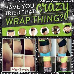 Amazing skinny wrap
