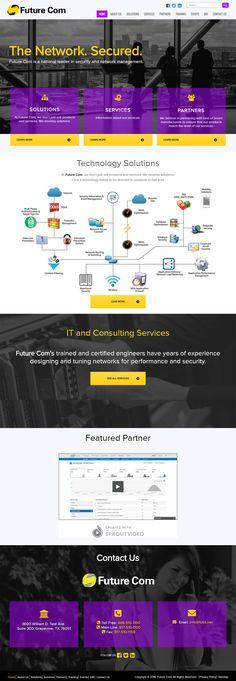 Grapevine Texas based Future Com Gets New Website Design