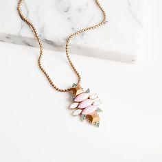 Fraise D'Or Necklace
