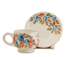 Scenes from Nature Cup & Saucer Set, $18.00, Catalog of St. Elisabeth…