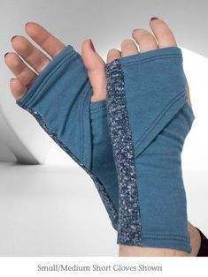 Sewing Clothes, Diy Clothes, How To Make Clothes, Sewing Hacks, Sewing Projects, Knitting Projects, Grey Gloves, Creation Couture, Fashion Sewing