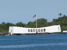 Pearl Harbor Hawaii, a most calm yet heartbreaking place