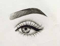 Sketches of eyes, eye sketch, sketches of love, sketches of people, art . Pencil Art Drawings, Art Drawings Sketches, Sketches Of Eyes, Drawings Of Eyes, Sketches Of People, Drawing People, Amazing Drawings, Easy Drawings, Eye Sketch