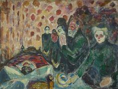 'Agonía' (1915), obra de Edvard Munch. / MUNCH MUSEUM. Munch, la voz detrás del grito   Babelia   EL PAÍS