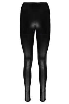Lily Wet Look High Waisted Leggings alternative image
