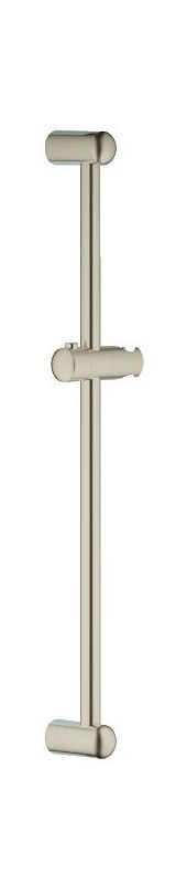 "Grohe 27 523 New Tempesta 24"" Slide Bar with Adjustable Hand Shower Bracket Brushed Nickel Shower Accessories Slide Bars"