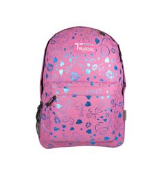 PINK Hearts Lips Backpack School Pack Bag 205 Back Pack Free Shipping Print NEW #Triplegear #Backpack