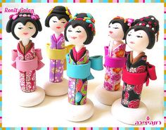 Kokeshi Dolls | Flickr - Photo Sharing!