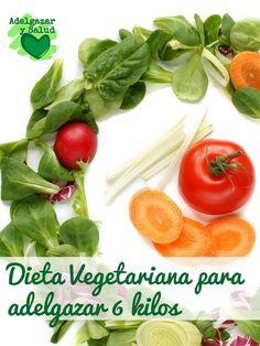 Esta #dieta #vegetariana para adelgazar puede hacerte perder de 6 a 7 kilos, aunque si lo acompañas de un poco de ejercicio, puedes incluso acelerar la pérdida de peso.