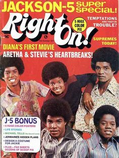Magazine covers - Jermaine Jackson - #1 source for anything JJ!