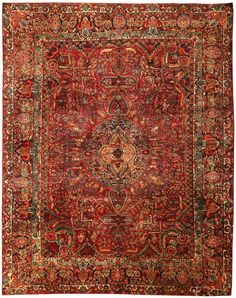 Antique Sarouk Persian Rug 43559 Main Image - By Nazmiyal