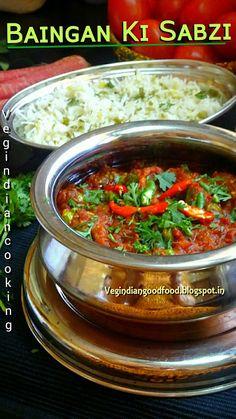Veg Indian Cooking: Baingan Ki Sabzi