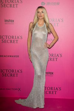 Lily Donaldson Victoria's Secret 2016 Fashion Show After Party in Paris - November 30, 2016