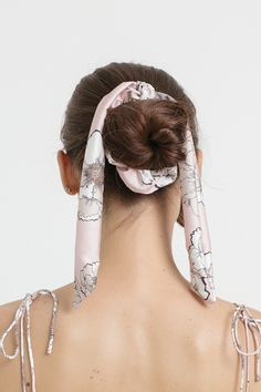 Band Aid, Scrunchies, Hair Band, Spring Summer, Rose, Coiffure Chignon, Bun Hairstyle, Pink, Roses