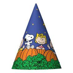 Charlie Brown and Gang Pumpkin 1st Birthday Party Hat: Charlie Brown and Gang Pumpkin 1st Birthday Party Hat $1.90 by peanuts Pumpkin 1st Birthdays, Birthday Party Hats, Charlie Brown, Peanuts, Pumpkin First Birthday, Birthday Hats