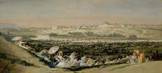 La pradera de San Isidro, es una de las obras más comentadas y valoradas de Francisco de Goya