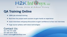 QA Training in Virginia, QA Testing Training in Virginia, QA Training and Placement in VA from Real Time Software Testing Industry Experts http://www.computertrainingsonline.com/qa-online-training-in-virginia