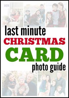 Sponsored: Only have 15 minutes to get the perfect Christmas photo? Don't worry, this guide to last minute Christmas Card Photos means perfect photos in record time. #CGVN