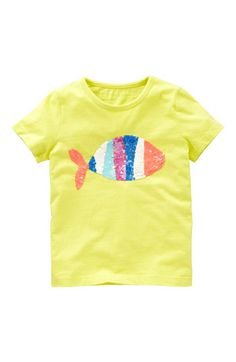 Mini Boden 'Twinkly' Tee (Little Girls & Big Girls) | Nordstrom