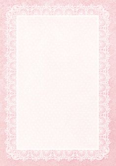 Vintage Lace Frame ~ MK 1 Galeria Papieru