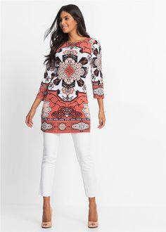 Tunika • színes • bonprix áruház Floral Tops, Blouse, Venus, Women, Fashion, Bebe, Tunics, Moda, Women's