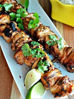 This amazing Siracha, honey, Lime Chicken Skewers Recipe I found at http://cookingpinterest.blogspot.com/ and I love it. It's so delicious, ...