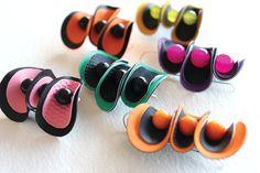 fabric jewelry | Tumblr