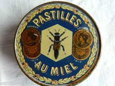 1920's French Bee Honey Drops