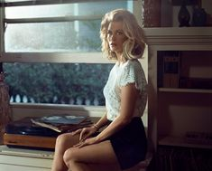 January Jones in Vogue Magazine, Italy August 2014