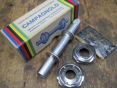 Vintage Campagnolo BB for cottered cranks.
