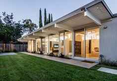 Eichler Renovation - midcentury - exterior - san francisco - Bill Fry Construction - Wm. H. Fry Const. Co.