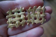 Vintage #Trifari Earrings/Oorbellen