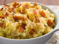 Smithfield Recipes: Smashed Bacon Ranch Potatoes