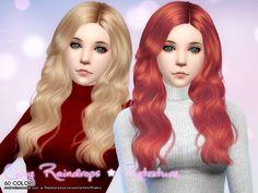 Cazy Raindrops Hair Retexture at Aveira Sims 4 via Sims 4 Updates