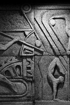 Bas Relief, Sculptor Ercan Yaren, Türkiye