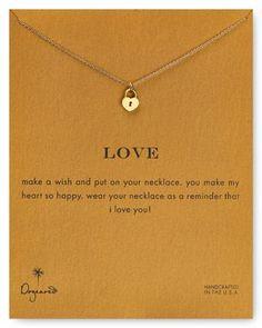 Dogeared Love Necklace