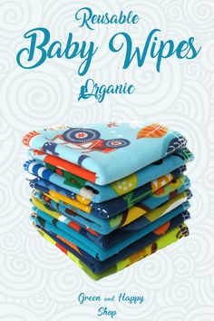 These organic reusable baby wipes are super soft! These washable cloths are great in combination with cloth diapers. The bamboo Used Cloth Diapers, Natural Parenting, Parenting Tips, Best Baby Shower Gifts, Baby Faces, Baby List, Organic Baby Clothes, Happy Mom, Cloth Napkins