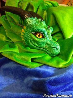 Голова для будущей куклы дракона - запись пользователя DragoNita (Екатерина) в сообществе Мир игрушки в категории Разнообразные игрушки ручной работы
