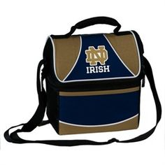 Notre Dame Fighting Irish Cooler Bag Lunch Pail Irish Fans f61019437a4c9