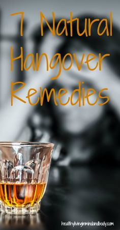7 Natural Hangover Remedies by lucinda Health Tips, Health And Wellness, Health And Beauty, Health Fitness, Health Remedies, Home Remedies, Natural Remedies, Hangover Remedies, Happy Hour Drinks