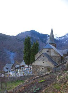 Una ermita en el Valle de Arán.
