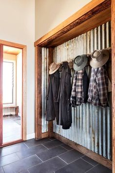 Back porch take out closet doors
