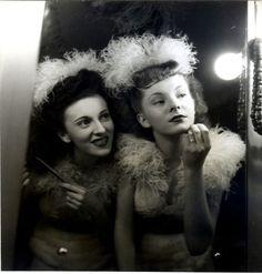 french chorus girls c.1940s